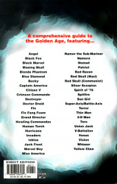 Verso de Official Handbook of the Marvel Universe Vol.4 (Marvel comics - 2004) -8- Golden Age 2004