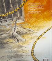 Verso de La bête (Frank Pé/Zidrou) -1- La Bête