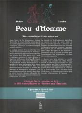 Verso de Peau d'Homme - Tome HC