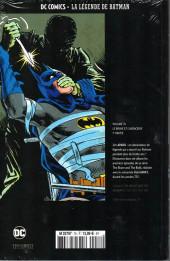 Verso de DC Comics - La légende de Batman -7611- Le brave et l'audacieux - 1re partie