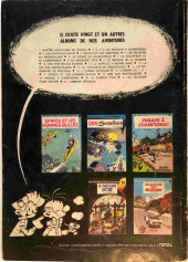 Verso de Spirou et Fantasio -12Total- Le nid des marsupilamis