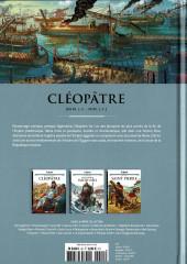 Verso de Les grands Personnages de l'Histoire en bandes dessinées -42- Cléopâtre