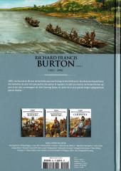 Verso de Les grands Personnages de l'Histoire en bandes dessinées -40- Richard Francis Burton