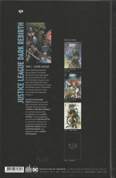 Verso de Justice League Dark Rebirth -3- Guerre magique
