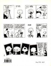 Verso de Calvin et Hobbes -5- Fini de rire !