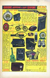 Verso de Black Rider rides again (Atlas - 1957) - Treachery at Hangman's Bridge!