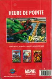 Verso de Spider-Man - Les aventures (Presses Aventure) -2- Heure de pointe