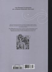 Verso de Les grands Classiques de la Bande Dessinée érotique - La Collection -111116- Sophisticated Ladies