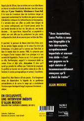 Verso de (AUT) Moore, Alan - Incantations: le grand œuvre d'Alan Moore