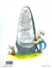 Verso de Astérix (Hachette) -1a2003/06- Astérix Le Gaulois
