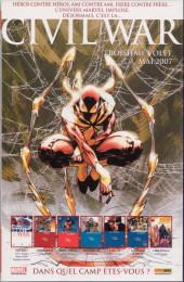 Verso de Spider-Man (Marvel France 2e série - 2000) -88Col- L'anneau de la liberté