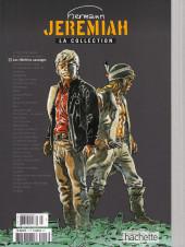 Verso de Jeremiah - La Collection (Hachette) -3- Les héritiers sauvages