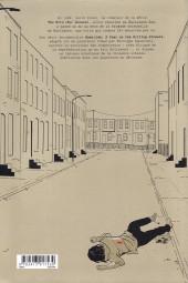Verso de Homicide - Une année dans les rues de Baltimore -5- 22 juillet - 31 décembre 1988
