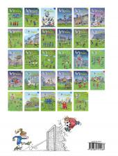 Verso de Les foot Furieux Kids -6- Tome 6
