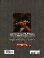 Verso de Savage Sword of Conan (The) - La Collection (Hachette) -72- Les hantises de la tour de la terreur