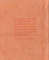 Verso de (AUT) Nicoby - L'Homme aux 10.000 femmes n'a écrit que 400 romans