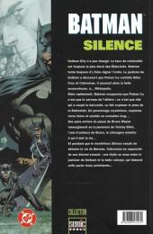 Verso de Batman : Silence -2- Silence 2