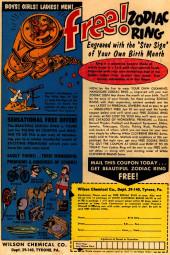 Verso de Adventures of the Jaguar (Archie comics - 1961) -3- Issue # 3
