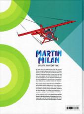 Verso de Martin Milan pilote d'avion-taxi (Intégrale) -3- Intégrale 3