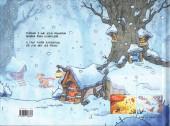 Verso de Sous les Arbres -2- Le frisson de l'hiver