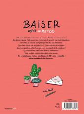 Verso de Baiser après #metoo - Lettres à nos amants foireux