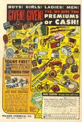 Verso de Adventures of the Jaguar (Archie comics - 1961) -9- Issue # 9