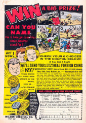 Verso de Adventures of the Fly (Archie comics - 1960) -1- The Fly Battles Spider Spry!