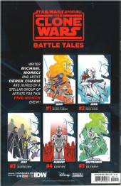 Verso de Star Wars Adventures - The Clone Wars - Battle Tales -2- Chapter Two
