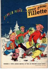 Verso de Fillette (Après-guerre) -HS55/12- N° Spécial de Noël