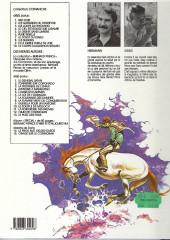 Verso de Comanche -10b1989- Le corps d'Algernon Brown