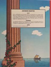 Verso de Alix -2c1984- Le sphinx d'or