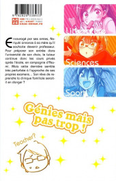 Verso de We Never Learn -13- Tome 13