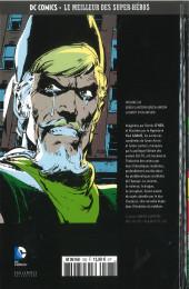 Verso de DC Comics - Le Meilleur des Super-Héros -126- Green Lantern/ Green Arrow - La Mort d'un Archer