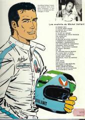 Verso de Michel Vaillant -2g1976'- Le pilote sans visage