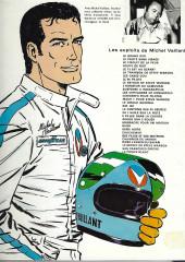 Verso de Michel Vaillant -8e1978- Le 8e pilote