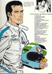 Verso de Michel Vaillant -10e1983'- L'honneur du Samouraï