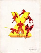Verso de X-Men (Les étranges) -1- Descente aux enfers