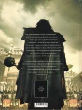 Verso de L'espion de César -1- Memento mori