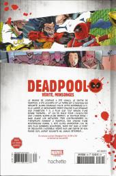 Verso de Deadpool - La collection qui tue (Hachette) -3410- Vérité, Mensonges