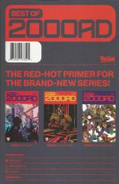 Verso de Free Comic Book Day 2020 -0- Best of 2000AD