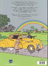 Verso de (AUT) Hergé -35- Tintin - Hergé - Les Autos
