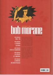 Verso de Bob Morane 10 (Intégrale Le Lombard) -15- Intégrale 15