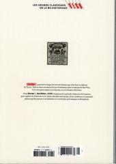 Verso de Les grands Classiques de la BD Historique Vécu - La Collection -22- Giacomo C. - tome II : la chute de l'ange