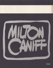Verso de (AUT) Caniff - La bande dessinée selon Milton Caniff