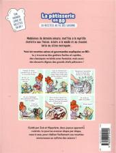 Verso de La pâtisserie en BD - La pâtisserie en BD - 20 recettes au fil des saisons
