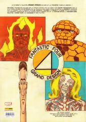 Verso de Fantastic Four : Grand Design