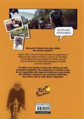 Verso de Tour de France (Histoires Incroyabes) - Histoires incroyables du Tour de France