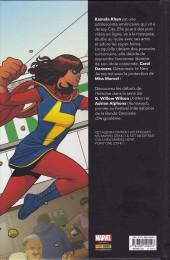 Verso de Ms. Marvel -1a2020- Métamorphose