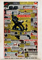 Verso de Detective Comics (DC Comics - 1937) -27- Issue # 27