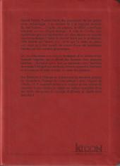 Verso de Les chefs-d'œuvre de Lovecraft -5- L'appel de Cthulhu